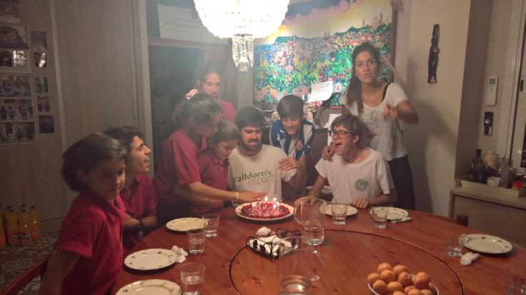 Celebrando en familia