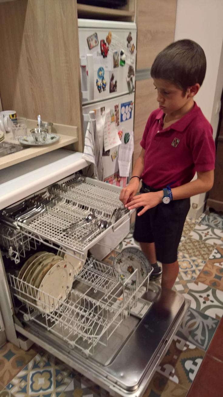 Rafa lavaplatos